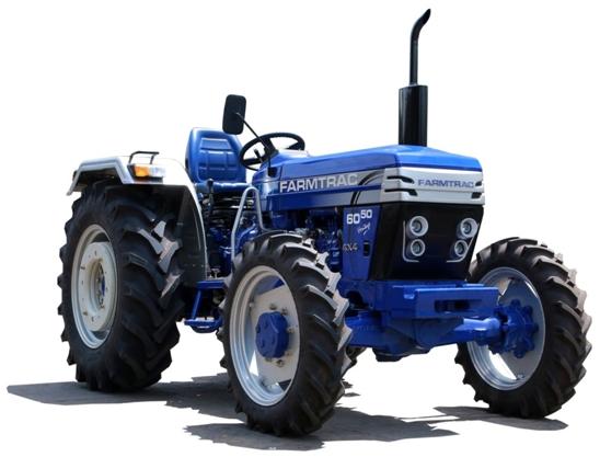 Farmtrac - 6050 - 4x4 Tractor